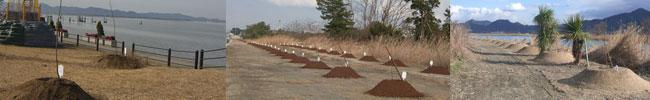 児島湖花回廊 第2回植樹会